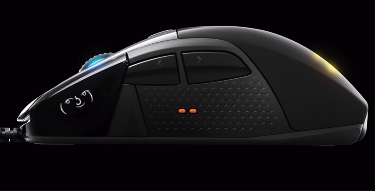 игровая мышь steelseries rival 710 снабжена oled-дисплеем