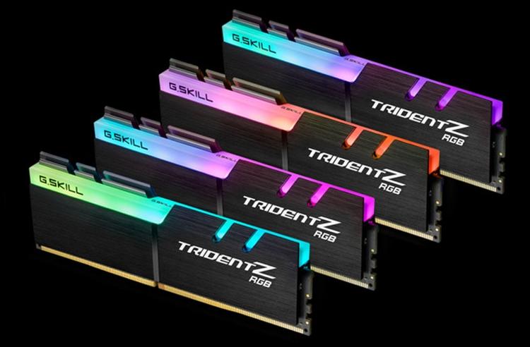 Новые комплекты памяти G.SKILL DDR4 рассчитаны на платформу Intel Z390