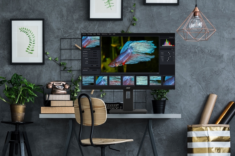 Acer B227Qbmiprzx: безрамочный монитор с диагональю 21,5 дюйма