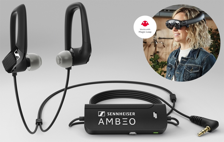 Наушники Sennheiser Ambeo AR One рассчитаны на работу с гарнитурой Magic Leap One