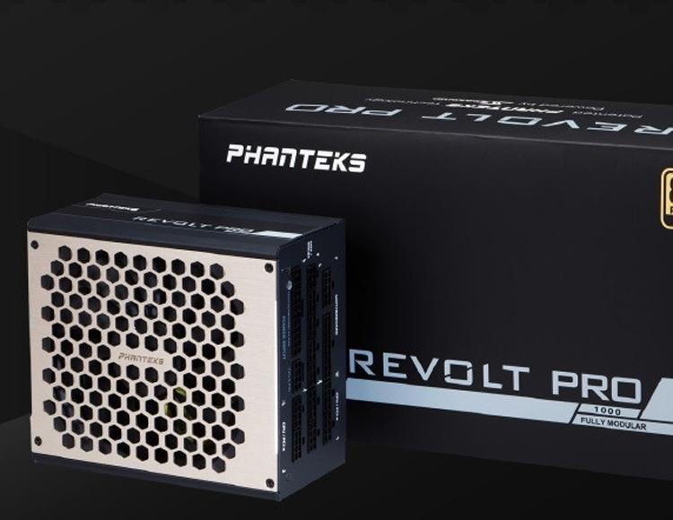 Мощность новых блоков питания Phanteks Revolt Pro достигает 1000 Вт