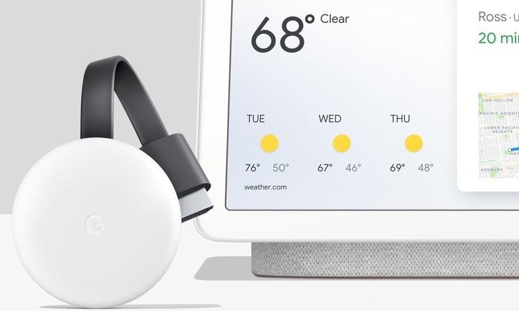ТВ-брелок Google Chromecast получил новый внешний вид