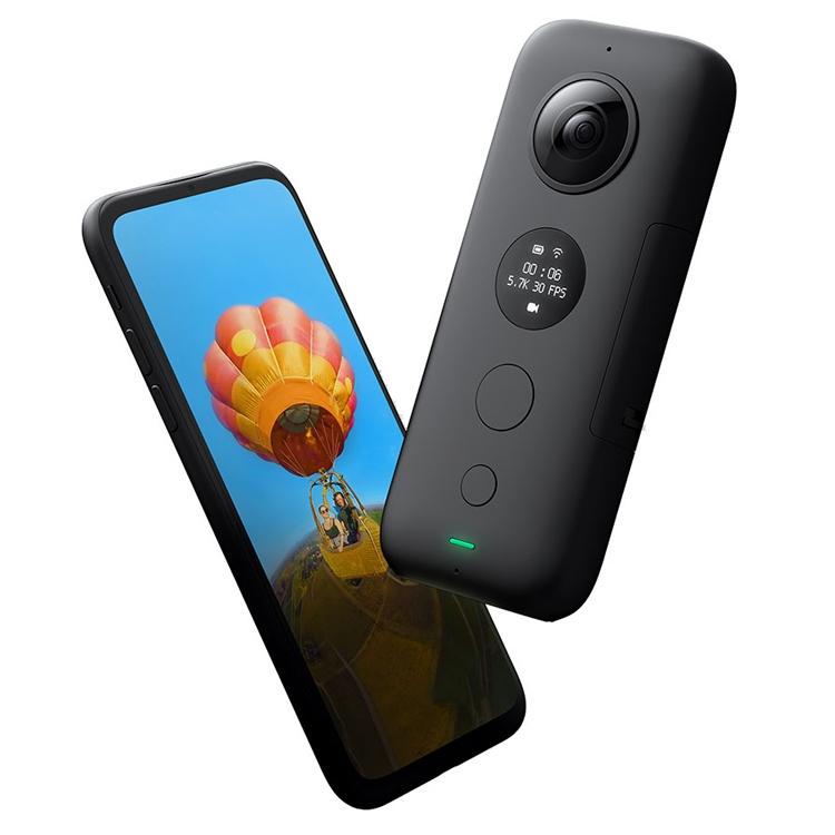 Insta360 One X: мини-камера для круговой панорамной съёмки