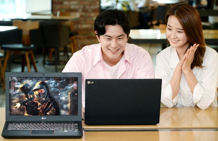 Экран игрового ноутбука LG 15G880 обладает частотой обновления 144 Гц