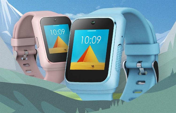 детские смарт-часы lenovo watch оснащены камерой приёмником gps