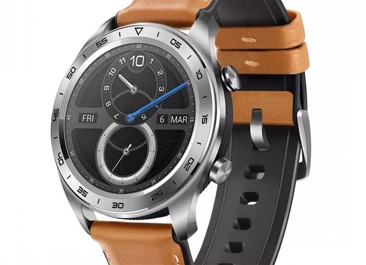 смарт-часы honor watch magic оснащены приёмником gps глонасс