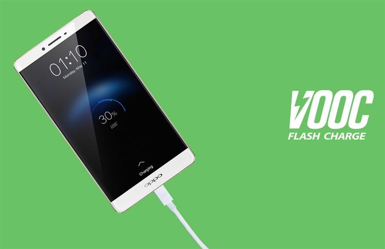 OPPO наделит смартфоны Realme системой быстрой подзарядки VOOC
