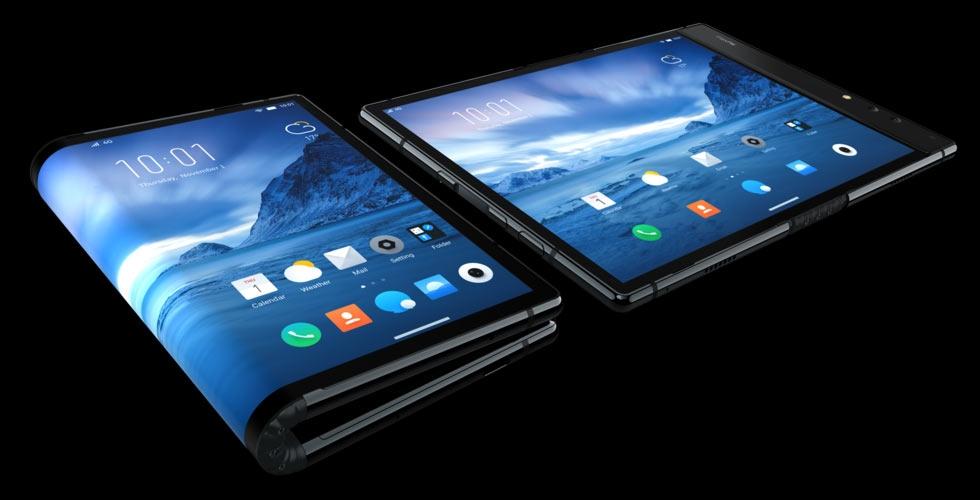 Первый смартфон со складным экраном Royole FlexPai действительно работает