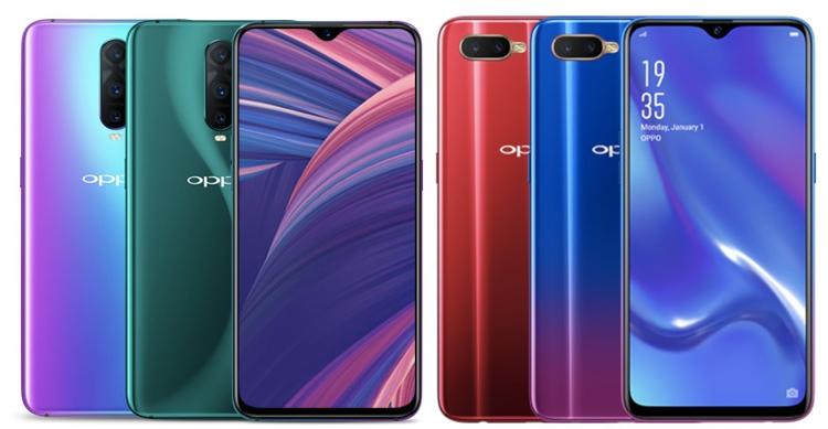 OPPO RX17 Pro и RX17 Neo: смартфоны с 6,4 дисплеем FHD+ и экранным сканером отпечатков