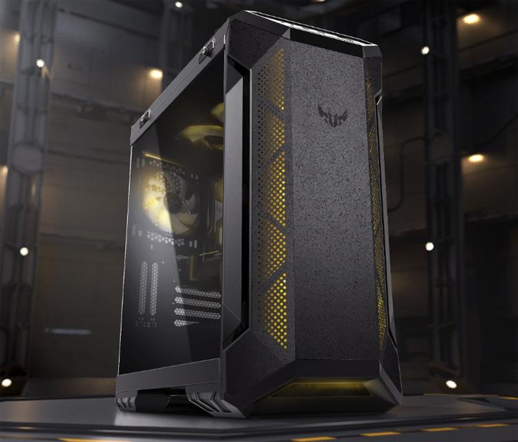 ПК-корпус ASUS TUF Gaming GT501 допускает установку видеокарт длиной до 420 мм