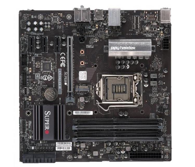 Плата SuperO C7C242-CB-M для чипов Intel доступна в версиях с Wi-Fi и без