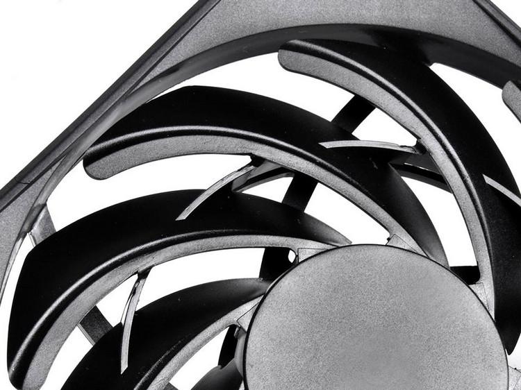 SilverStone представила низкопрофильный 120-мм вентилятор FN124