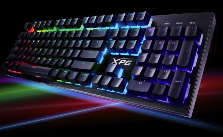 xpg infarex k10 m20 клавиатура мышь любителей игр