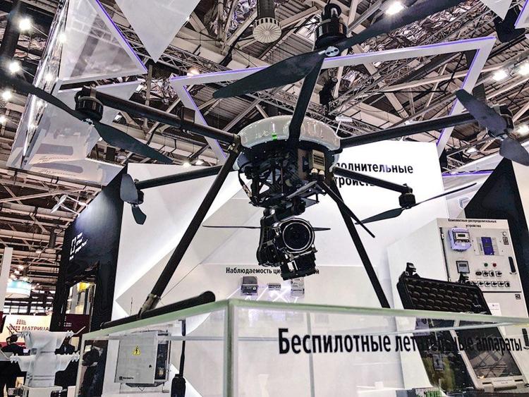Новый российский дрон займётся мониторингом электросетей