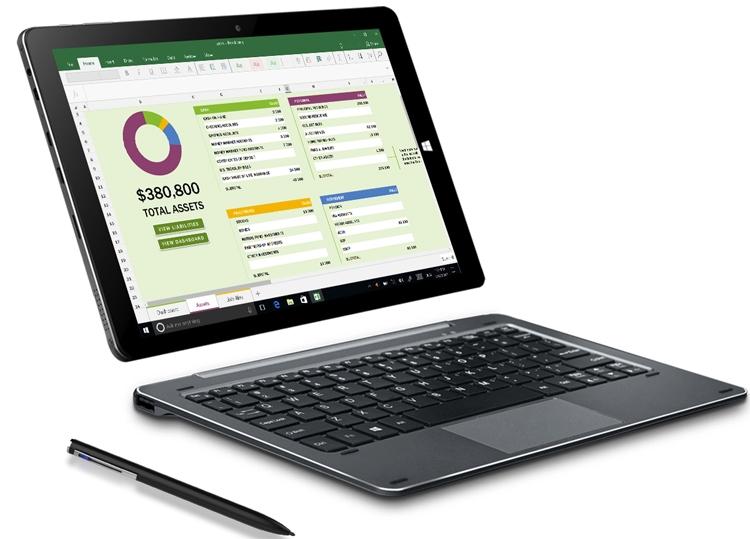 Гибридный планшет Chuwi Hi10 Air поддерживает перьевой ввод