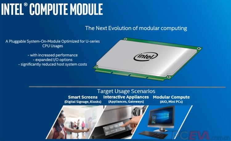 В 2019 году Intel выпустит вычислительные блоки Compute Module