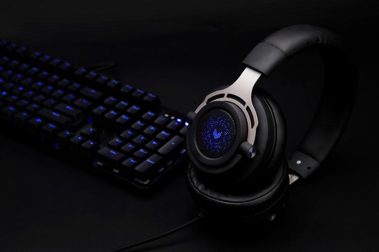 Игровая гарнитура Rapoo VH300 поддерживает виртуальный звук 7.1