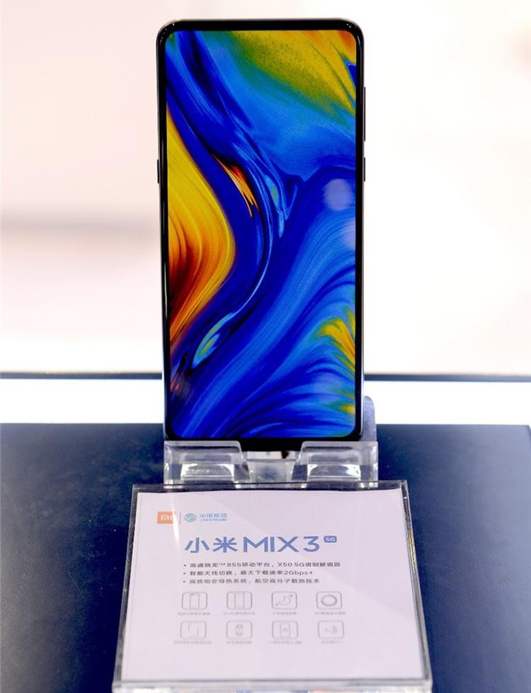 Смартфон Xiaomi Mi Mix 3 5G получил новейший процессор Snapdragon 855