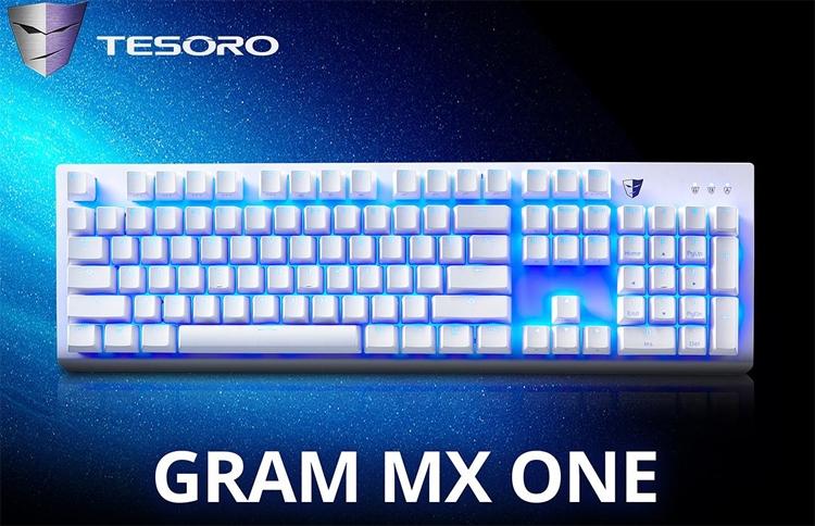 tesoro gram one механическая клавиатура лаконичным дизайном