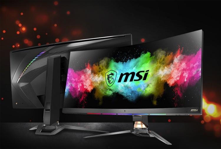 ces 2019 монитор msi optix mpg341cqr любителей игр