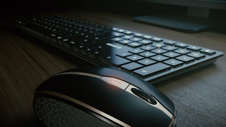 клавиатура мышь cherry 9000 slim нуждаются проводах