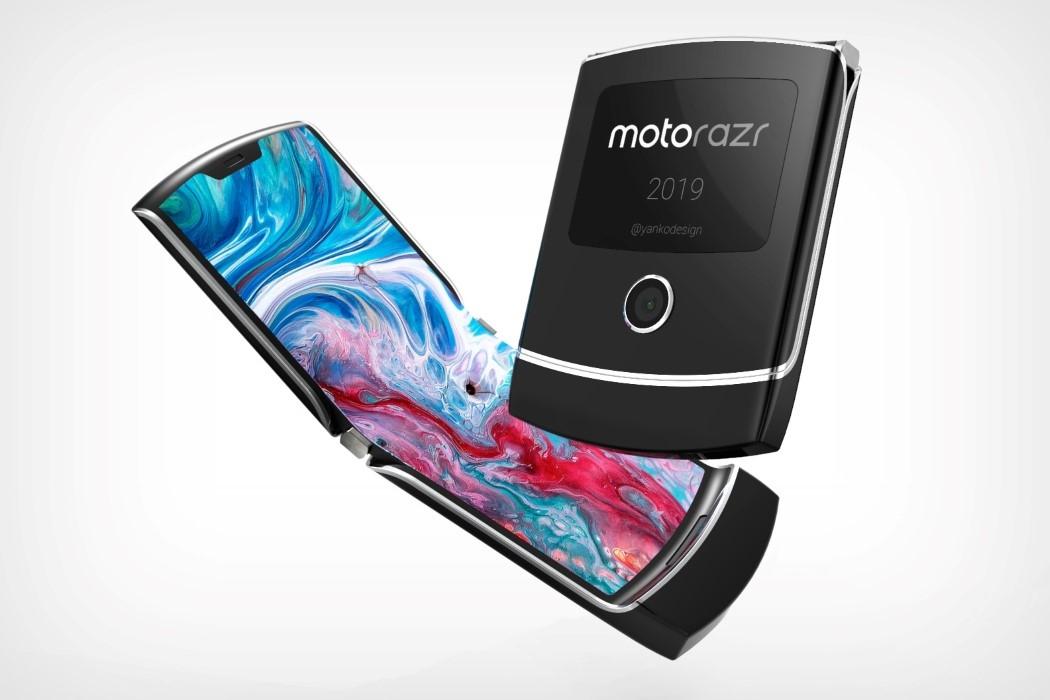 Рендер Moto RAZR 2019 показали на видео: выглядит круто