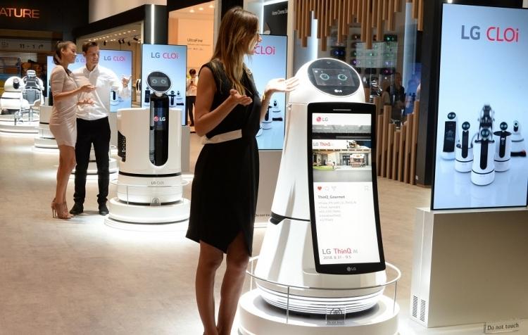 В этом году в ресторанах CJ Foodville появятся роботы LG