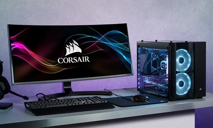 Corsair Vengeance 5185: игровой ПК с чипом Core i7-9700K и картой GeForce RTX 2080
