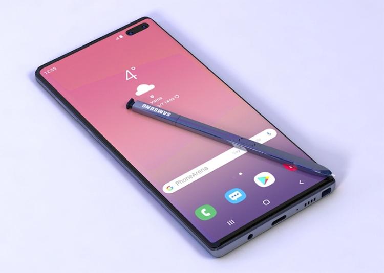 Раскрыта ёмкость аккумулятора фаблета Samsung Galaxy Note 10 5G