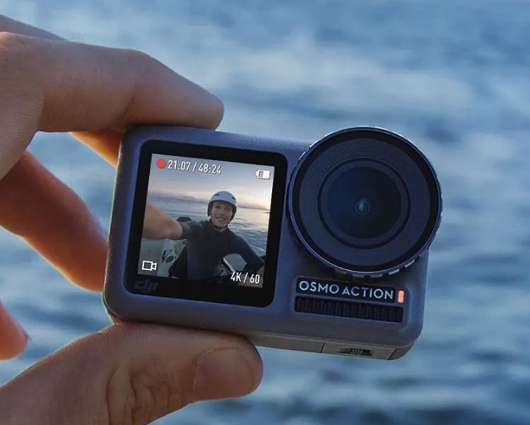 DJI Osmo Action: спортивная камера с двумя дисплеями за $350