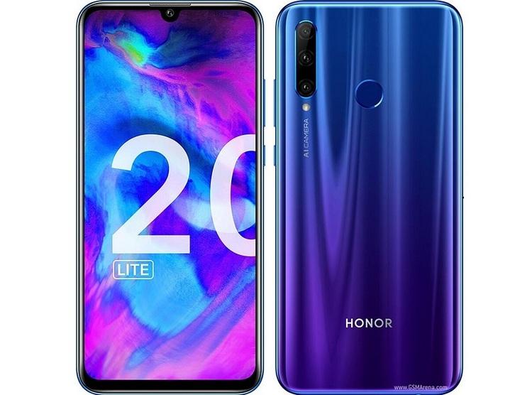 Honor 20 Lite: смартфон среднего уровня с продвинутой камерой за 299 евро
