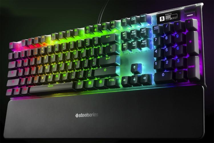 computex 2019 клавиатура steelseries apex pro настраиваемыми переключателями