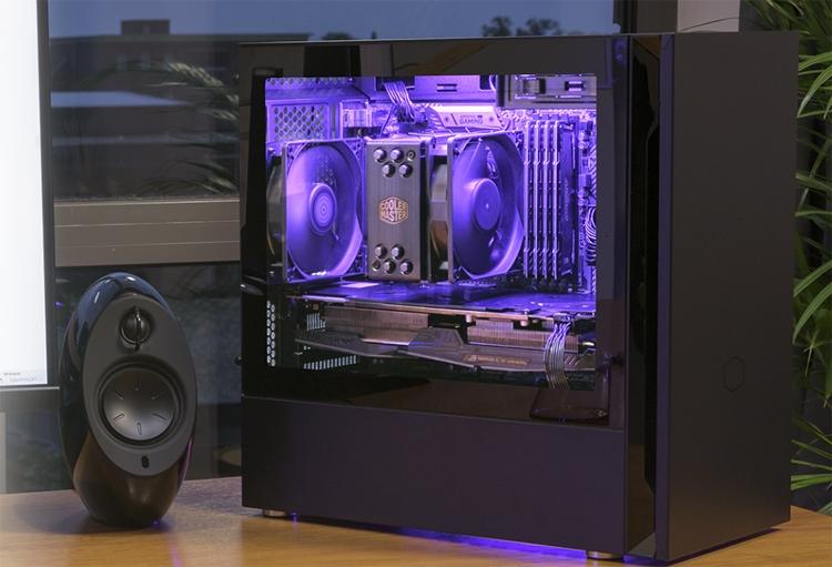 Cooler Master Silencio S400: корпус для компактного ПК с низким уровнем шума