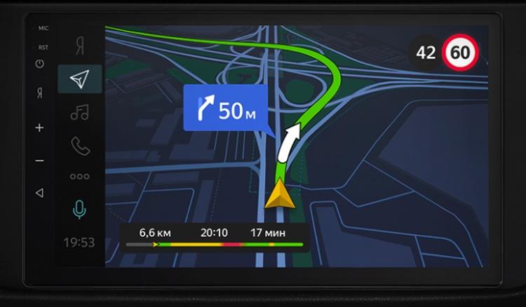 МТС | Яндекс Авто: бортовой автомобильный компьютер с поддержкой LTE