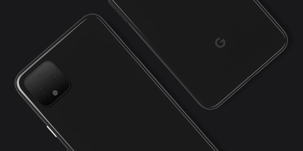 Google поделилась официальным изображением будущих смартфонов Pixel 4 и Pixel 4 XL