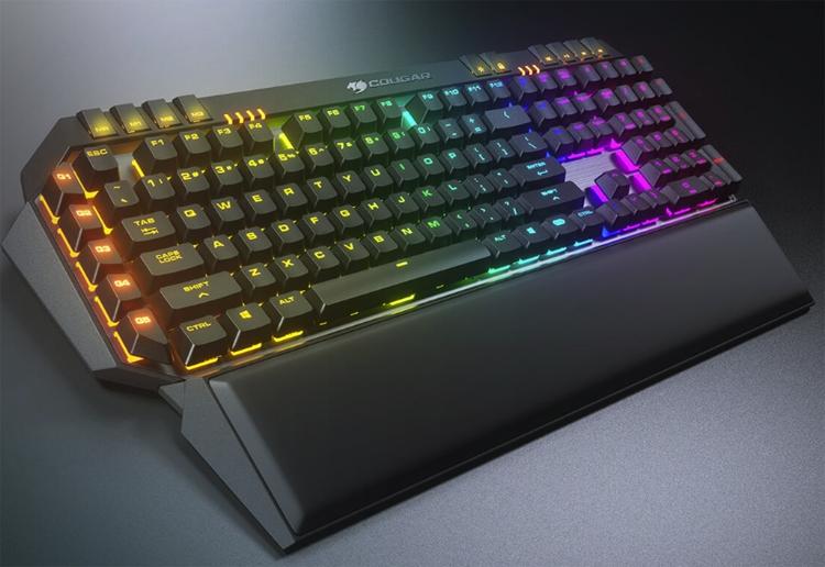cougar 700k evo механическая клавиатура премиум-класса rgb-подсветкой