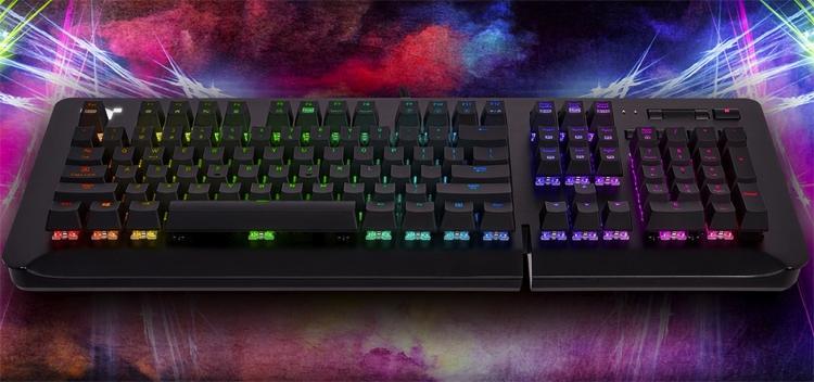 игровая клавиатура thermaltake level rgb представлена трёх версиях