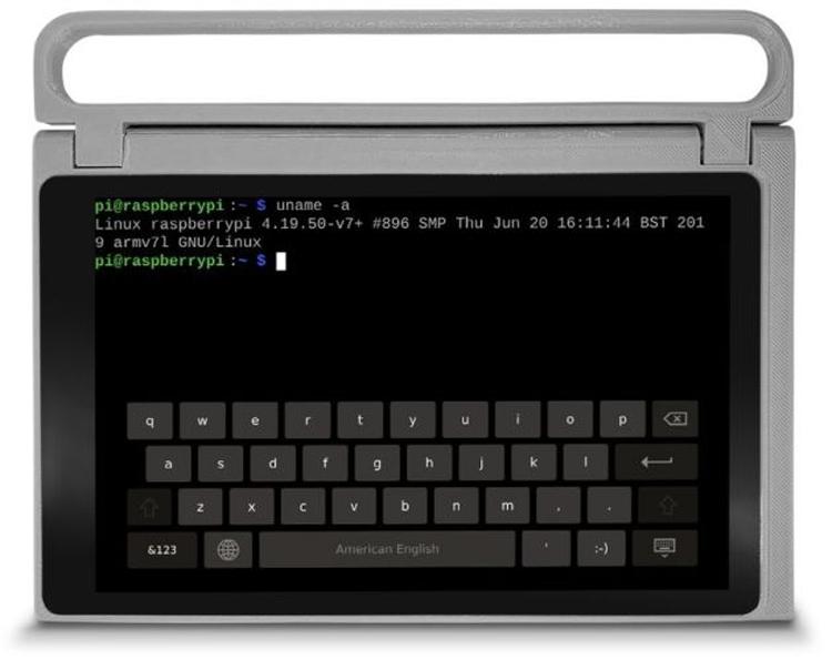 CutiePi: планшет на основе модуля Raspberry Pi Compute Module 3 Lite