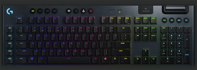 игровая клавиатура logitech g915 lightspeed оценена 250