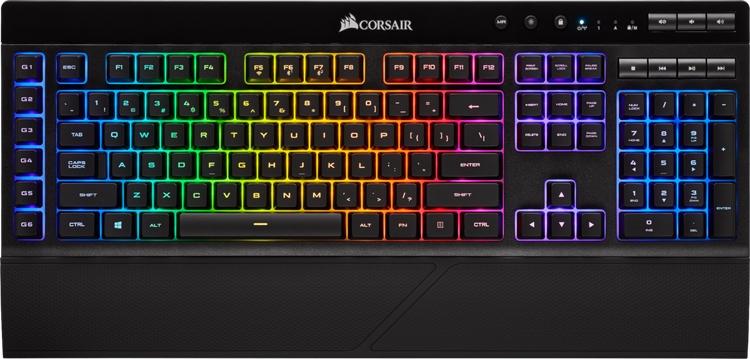 клавиатура corsair k57 rgb подключаться тремя способами