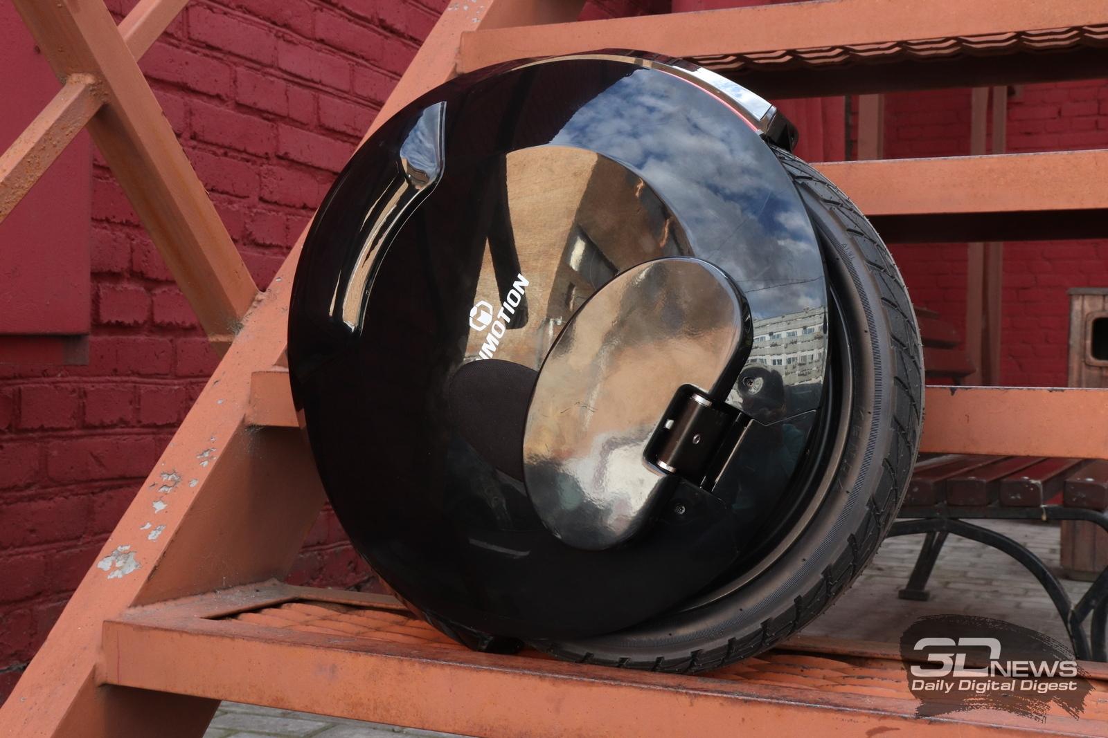Новая статья: Обзор моноколеса Inmotion V8: огни большого колеса