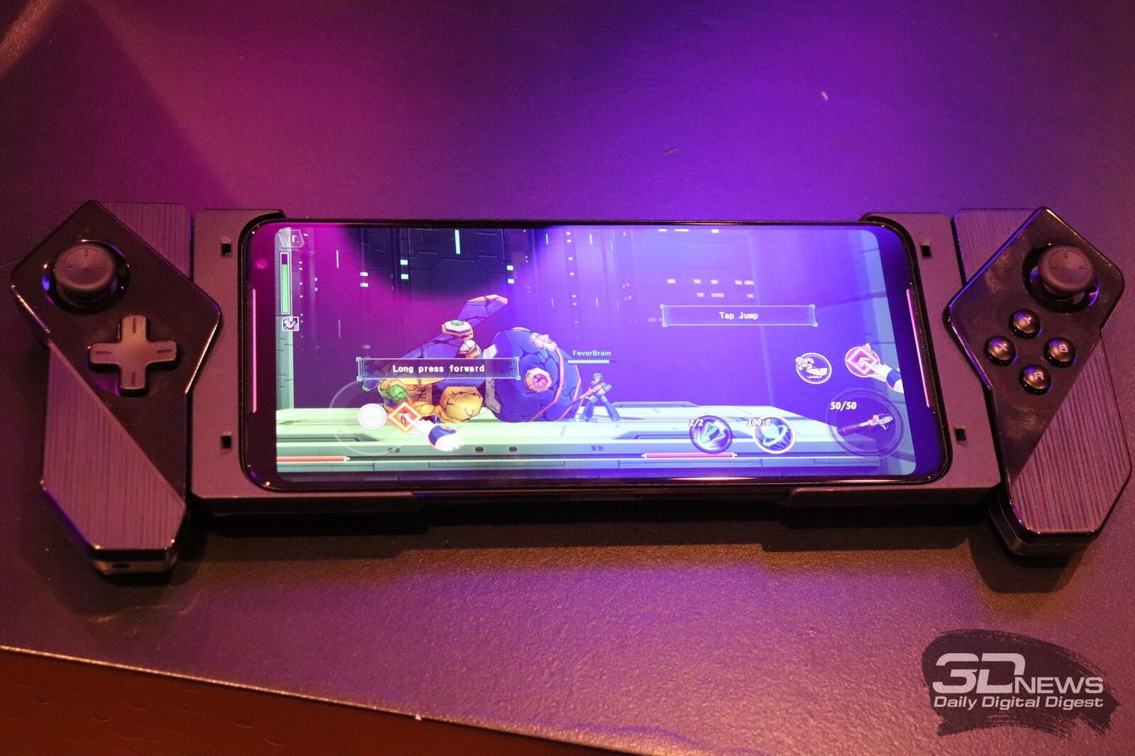 Новая статья: IFA 2019: Первые впечатления от ASUS ROG Phone II, самого мощного смартфона современности