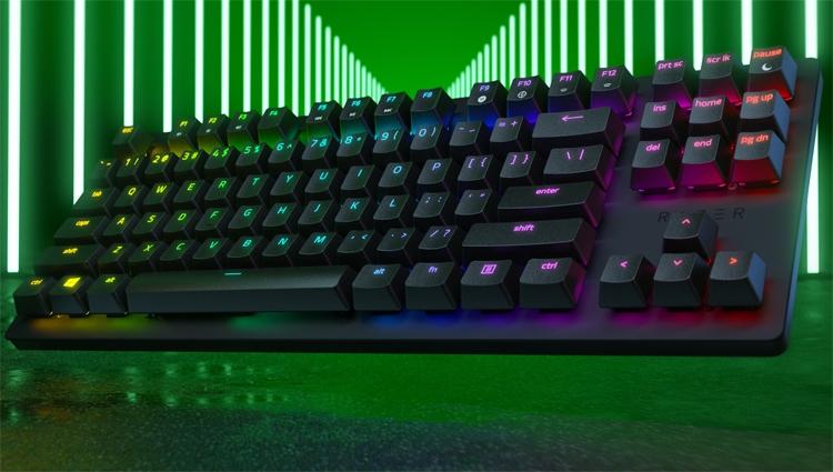 компактная клавиатура razer huntsman tournament edition рассчитана киберспортсменов