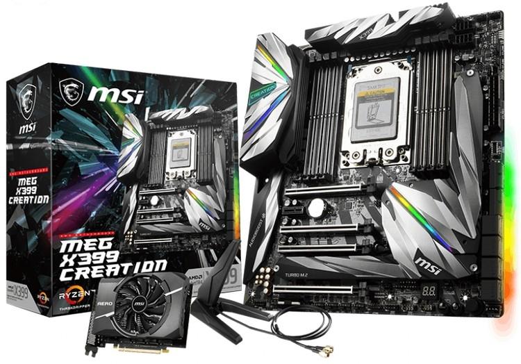 MSI подтвердила подготовку Creator TRX40 для процессоров Ryzen Threadripper 3000