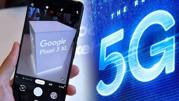 На следующей неделе Google может представить свой первый 5G-смартфон