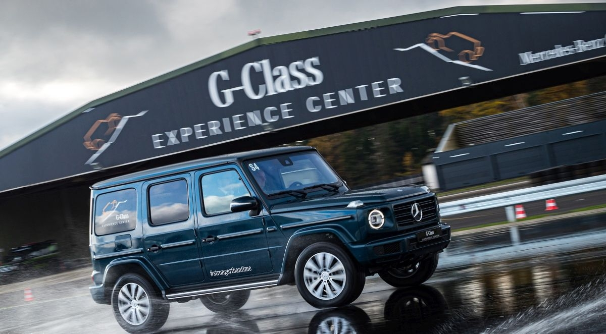 Mercedes-Benz выпустит электрическую версию внедорожника G-Class до 2022 года