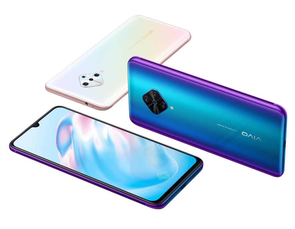 В России поступит в продажу смартфон vivo V17 с 48-Мп ИИ-квадрокамерой