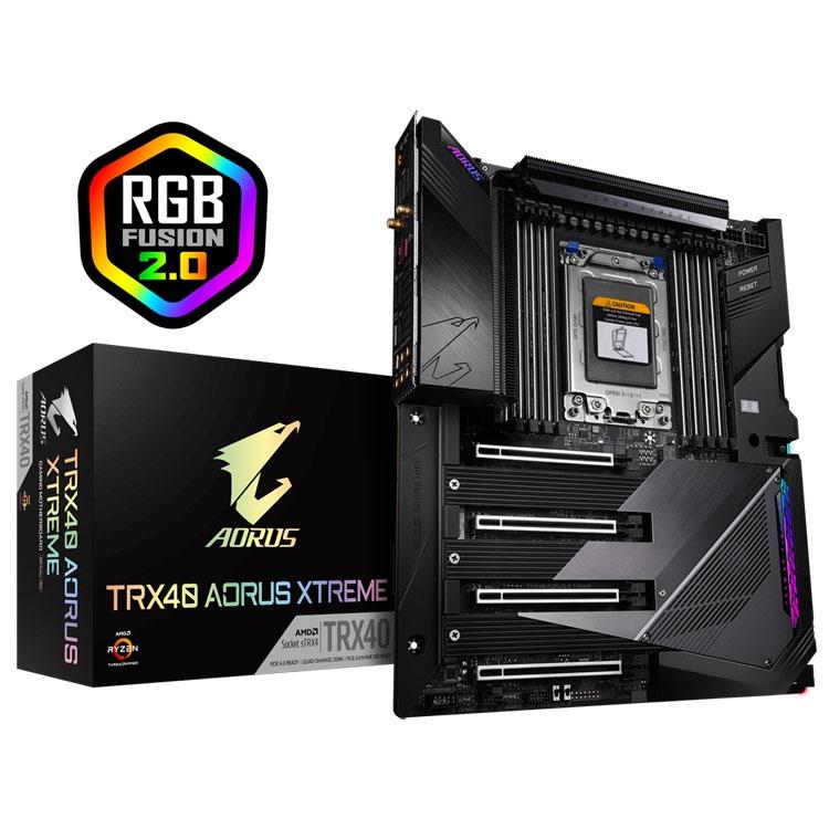 Gigabyte представила в России системные платы на чипсете AMD TRX40 — TRX40 AORUS XTREME, TRX40 AORUS MASTER и TRX40 AORUS PRO WIFI