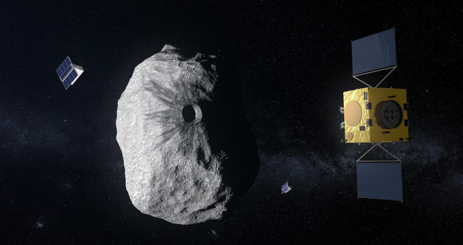 Европейское космическое агентство одобрило миссию Hera по предотвращению столкновения Земли с астероидами