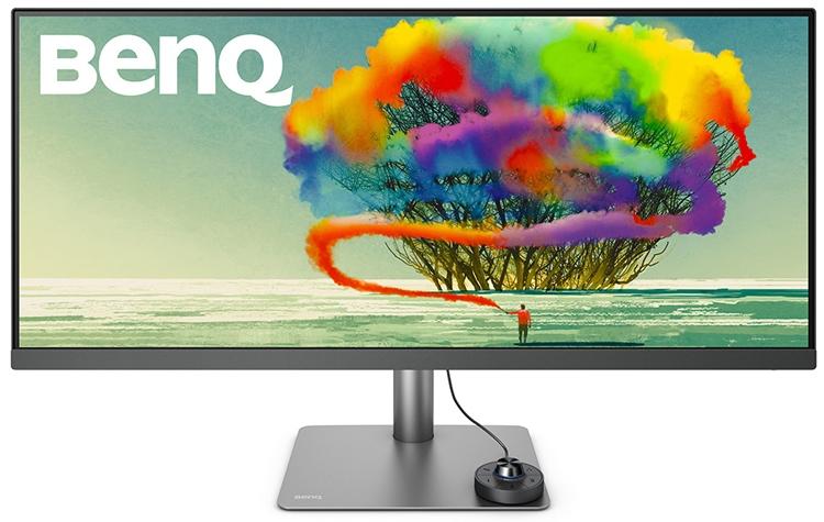 BenQ PD3420Q: большой монитор формата WQHD для дизайнеров
